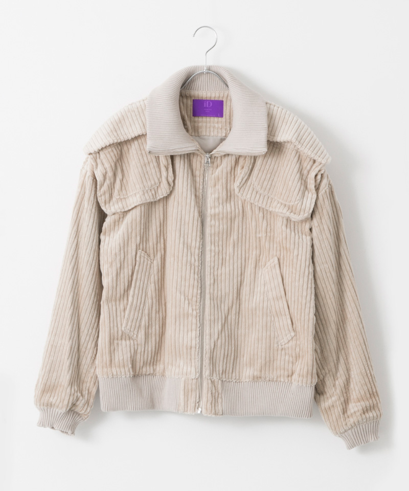 「The C」  Corduroy Blouson