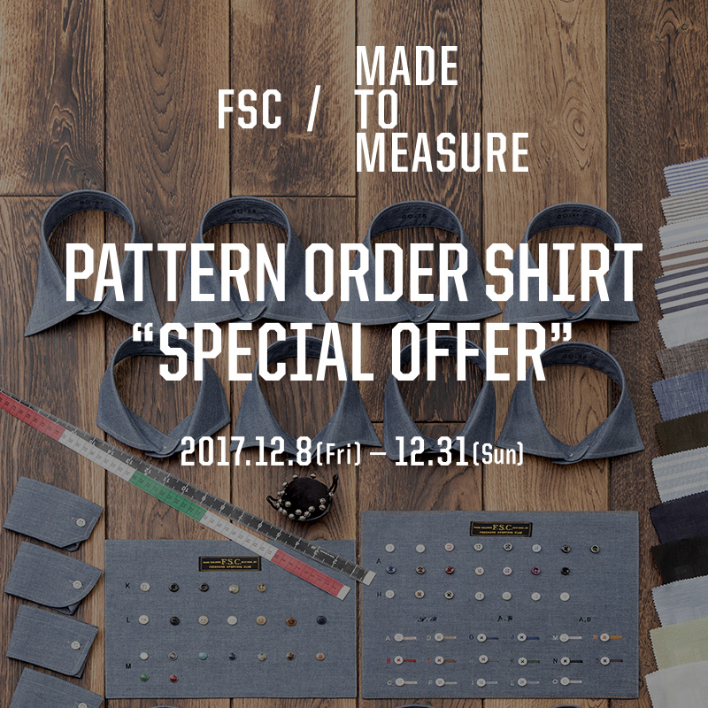 MADE TO MEASURE PATTERN ORDER SHIRT SPECIAL OFFER