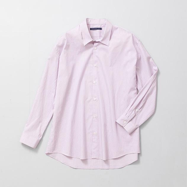 3月8日(木) 販売開始<br>semoh×URBAN RESEARCH ドビーストライプシャツ