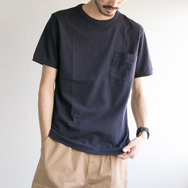 MHL. × URBNA RESEARCH 別注LOGO T-SHIRTS