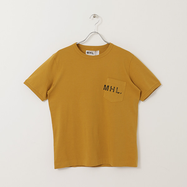 MHL. × URBNA RESEARCH 別注LOGO T-SHIRTS