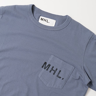 【4月6日(金) 発売】MHL. × URBAN RESEARCH 別注LOGO T-SHIRTS