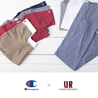 4月20日(金)<br>Champion × URBAN RESEARCH for WOMENの第2弾が登場