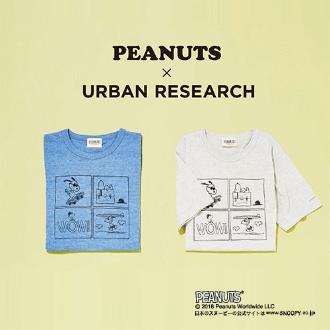 PEANUTS × URBAN RESEARCH