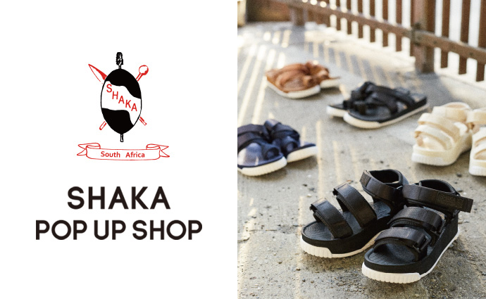 SHAKA POP UP SHOP