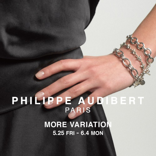 PHILIPPE AUDIBERT MORE VARIATION 開催