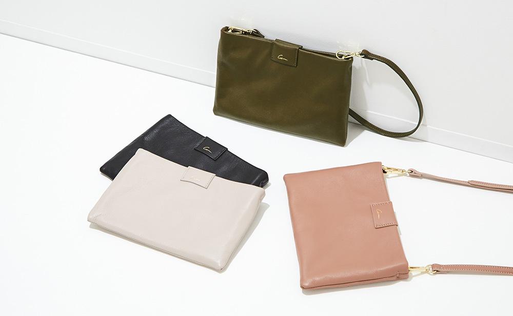 別注Leather Sacoche Bag