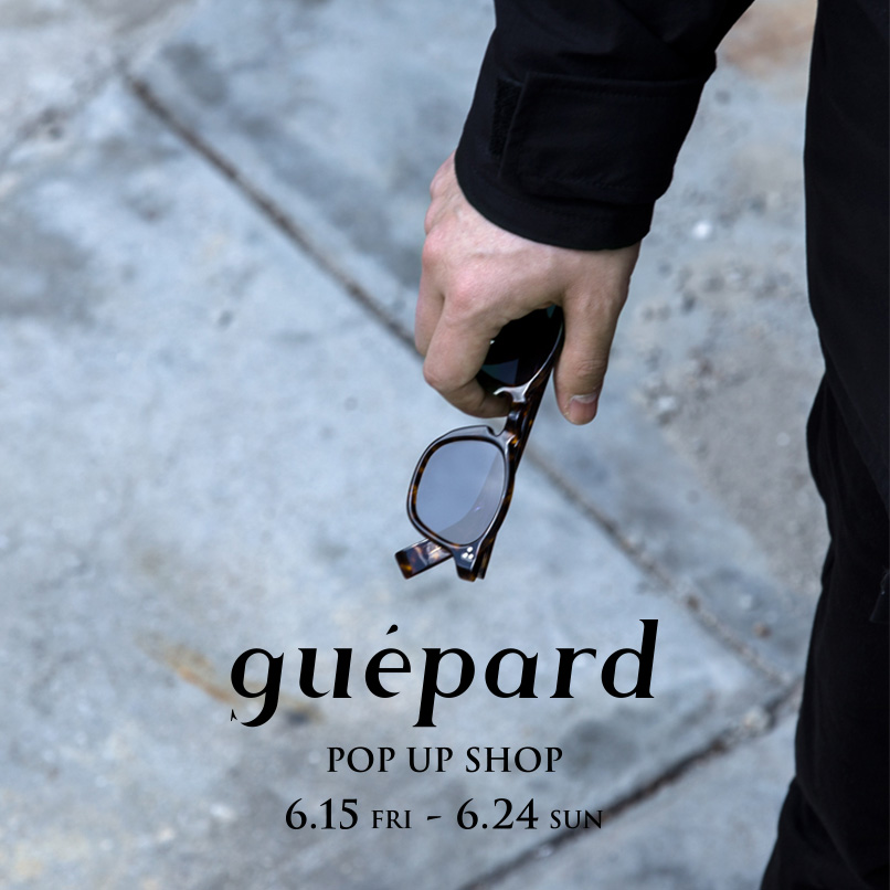 guépard  POP UP SHOP