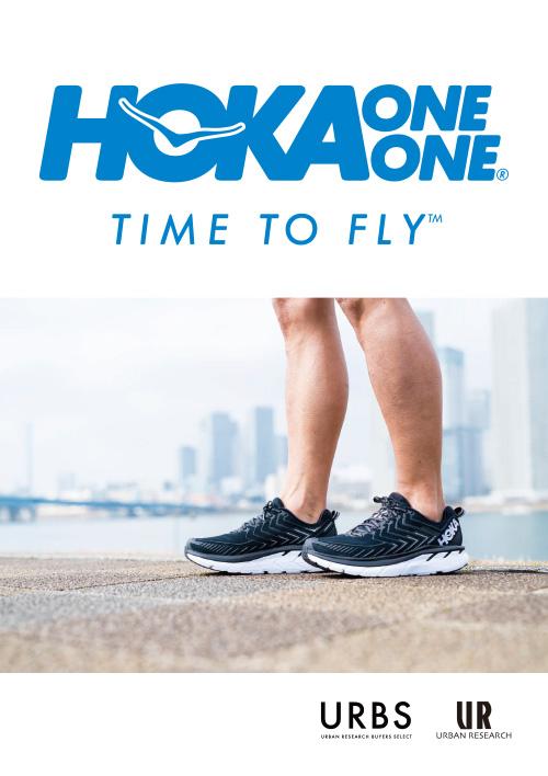 HOKA ONE ONE POP UP SHOP <br>今季の注目モデルを中心に幅広く取り揃えるイベントを開催