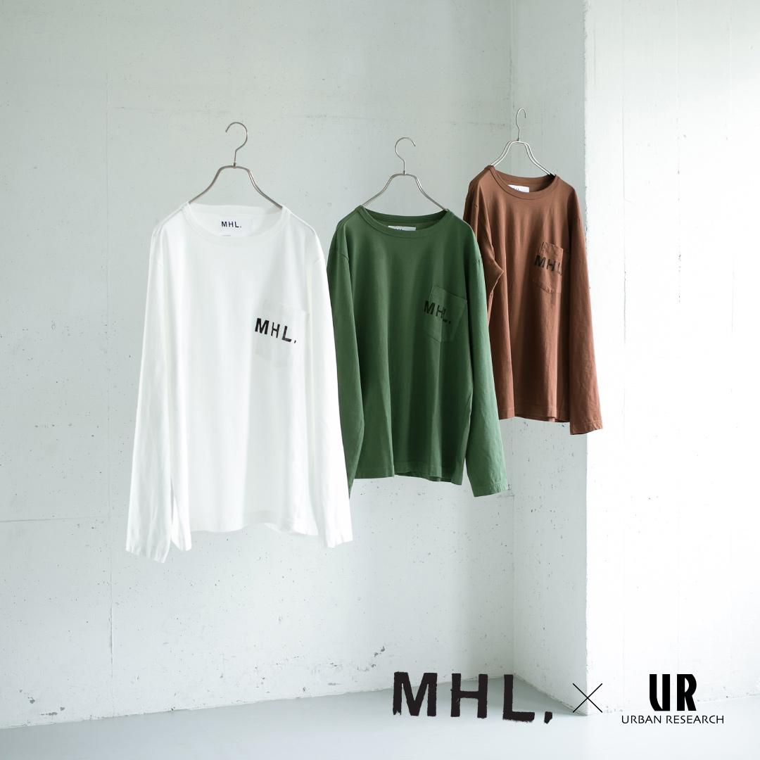 8月10日(金)発売! <br>MHL. × URBAN RESEARCH 別注PRINTED L/S TEE