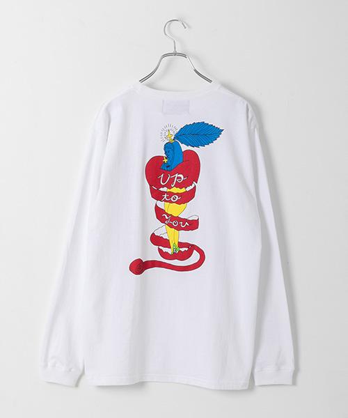 「the C」ロングTシャツ