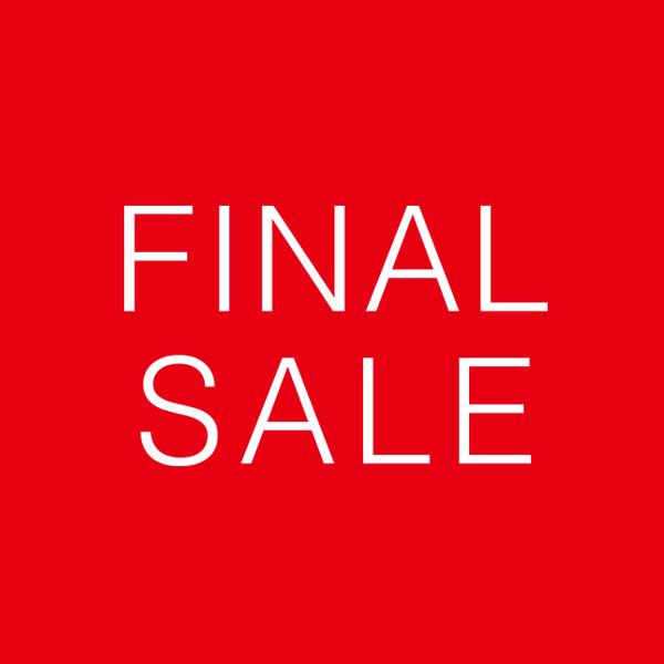FINAL SALE開催<br>セール対象品が最大50%OFF!レジにてさらに30%OFF!!