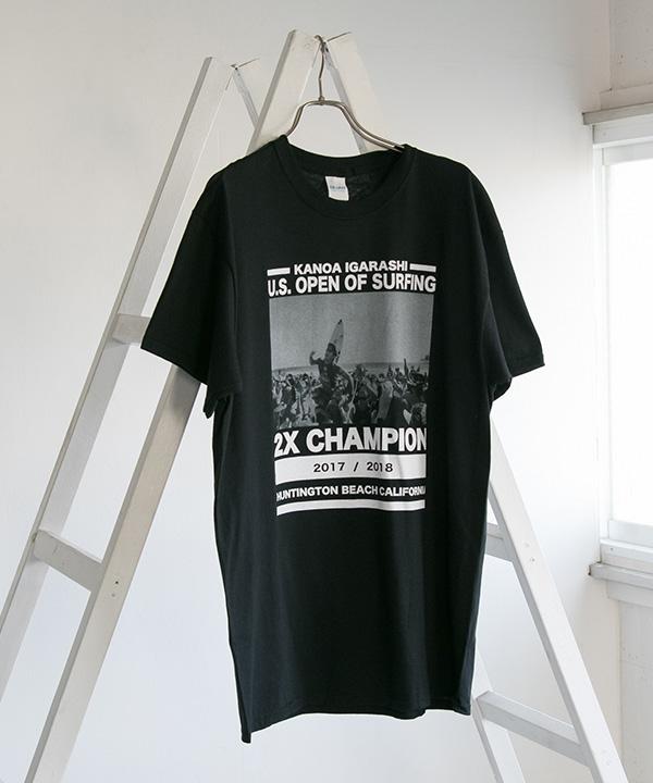 KANOA IGARASHI 2X CHAMPION T-SHIRTS