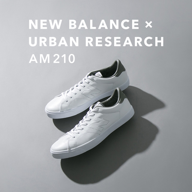【10月19日(金)発売】new balance × URBAN RESEARCH AM210 <br>春の国内限定販売モデルに続きユニセックスの別注モデルをリリース