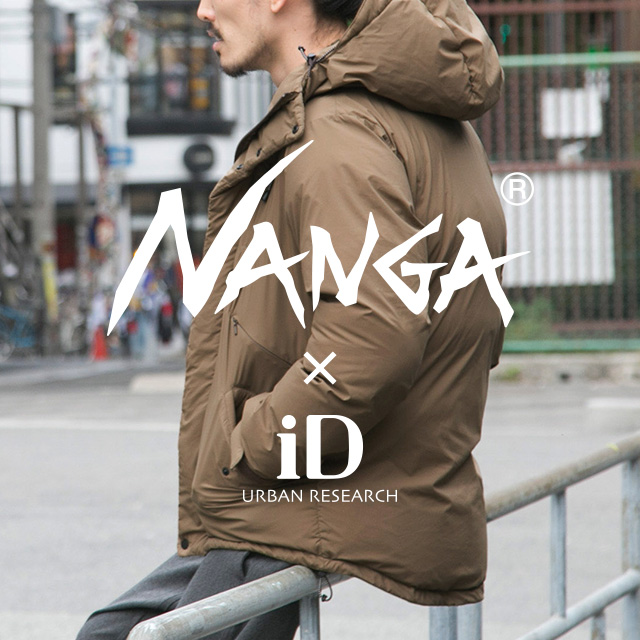 NANGA × URBAN RESEARCH iD <br>2018WINTER NEW MODEL