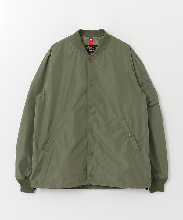 ALPHA INDUSTRIES × URBAN RESEARCH iD 別注MA-1 COACH JKT