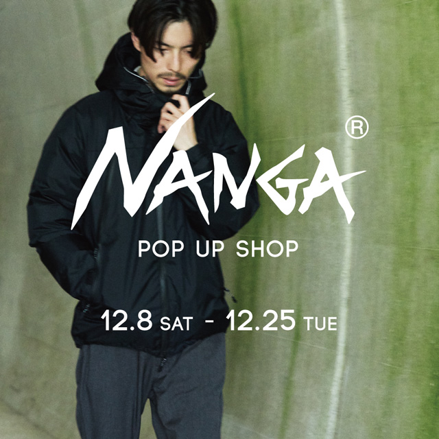 NANGA POP UP SHOP