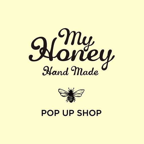 ハチミツのある生活を。<br>MY HONEY POP UP SHOP開催