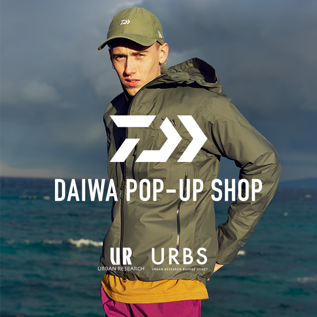 DAIWA POP UP SHOP by URBS