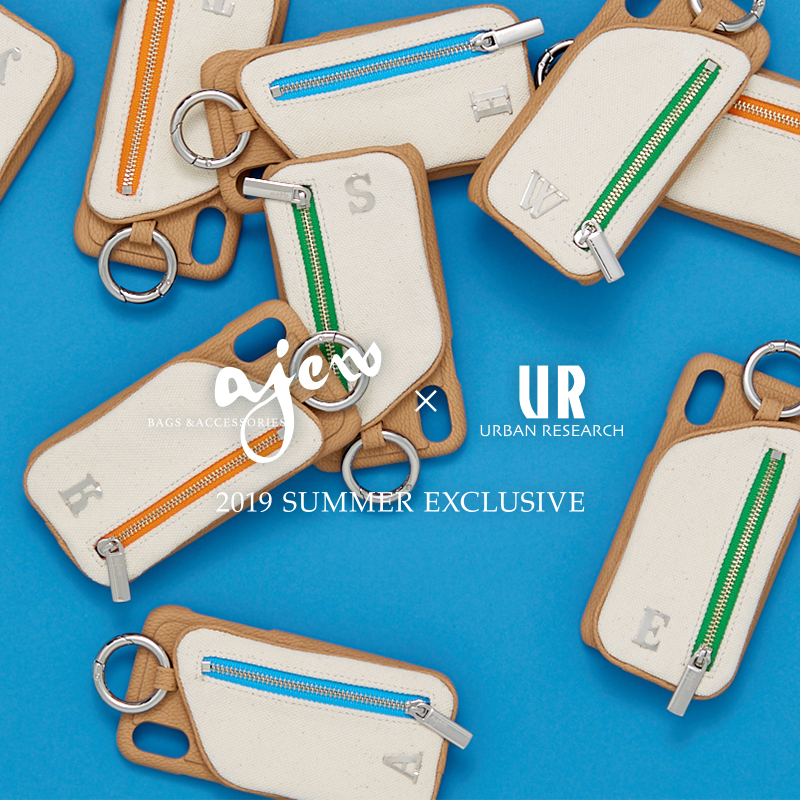 ajew × URBAN RESEARCH <br>2019 SUMMER EXCLUSIVE