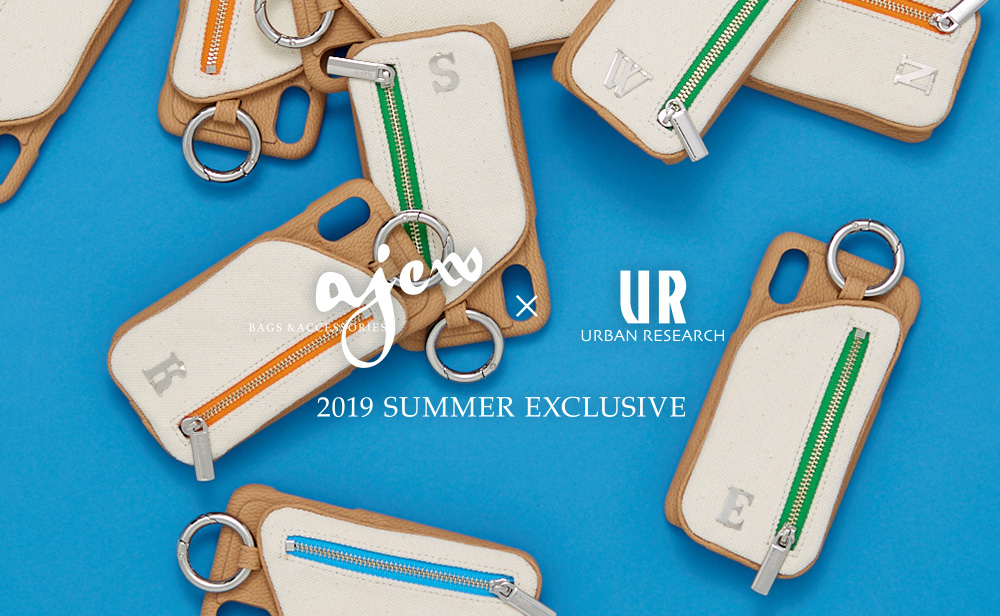 ajew × URBAN RESEARCH 2019 SUMMER EXCLUSIVE