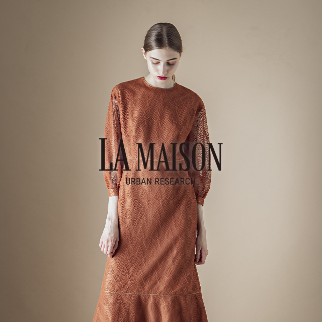 LA MAISON URBAN RESEARCH 2019 Autumn & Winter