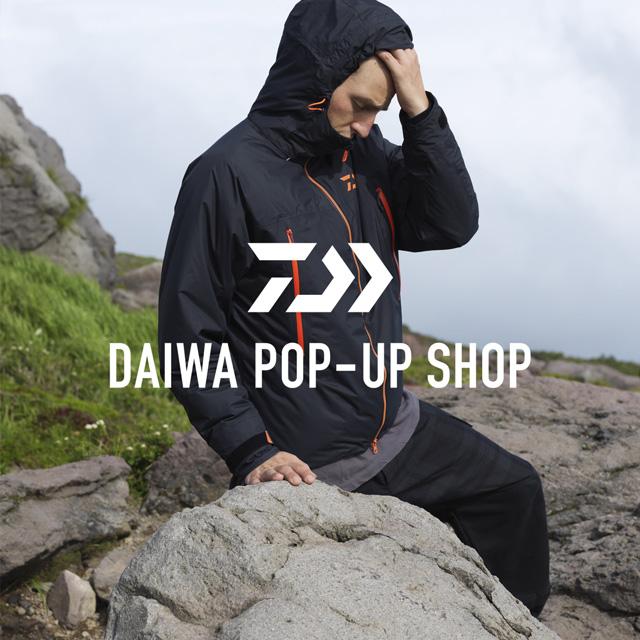 DAIWA POP UP SHOP by URBS <br>バスプロの内山幸也氏も来店